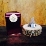 This photo displays our Maple Cream Tea (Luxury Pyramid Bagged Tea).