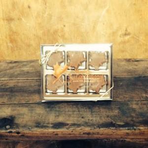 Pure Maple Sugar Candy Gift Box - 6 piece